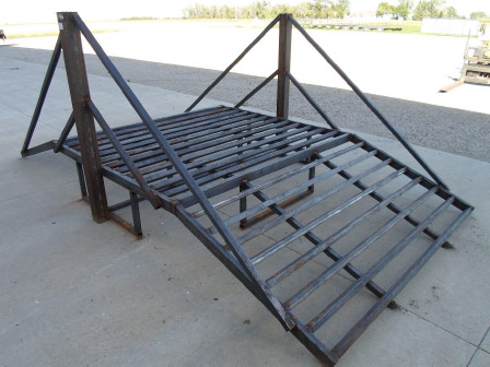 Atv Utv Driver Over Ramp Shooting Table And Benches