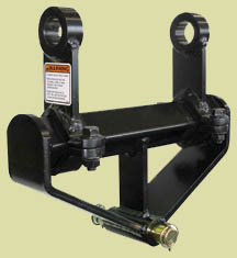 Backhoe or Excavator Posthole digger attachment